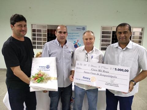 Doação Rotary Club